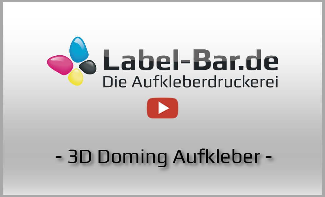 3D Aufkleber Video Impressionen