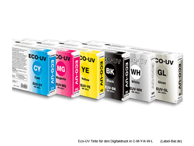 Ansicht Eco-UV-Tinte