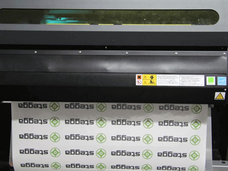 Aufkleberproduktion im UV-Digitaldruck